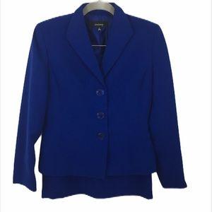 Jones Wear Royal Blue Blazer Skirt Set